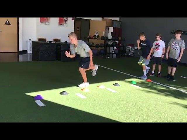 Single Leg Hop Foundation Movement