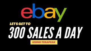 eBay: Using Terapeak To Get 300 Sales a Day screenshot 5