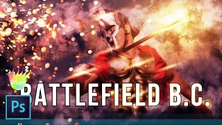 "Creating a ""Battlefield 1"" Style Poster & Text Effect in Photoshop CC 