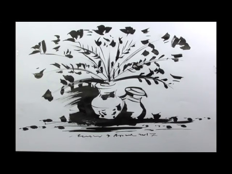 Sketsa Vas Bunga 3d Kata Kata