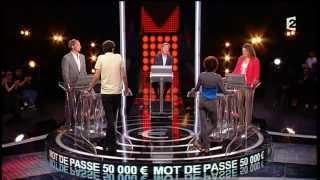 Mot de Passe 16-08-2012 avec Valérie Benhaïm & Louis Laforge (Jeu France 2)