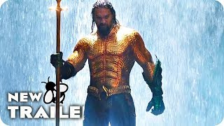 AQUAMAN Extended Trailer (2018) DC Superhero Movie