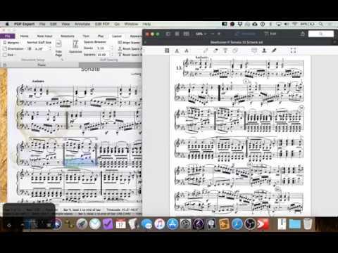 Working in Sibelius 2