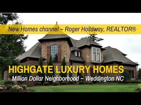 Highgate Luxury Homes for Sale - Weddington NC 28104