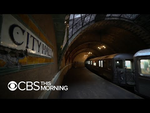 Secrets of the New York City subway system