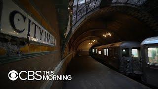 Secrets of the New York City subway system