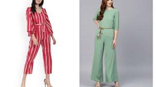 2019 Latest Jumpsuits dresses | jumpsuit for women | Designer Jumpsuit Designs for Girls