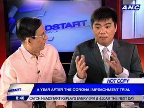 A year after the Corona Impeachment Trial