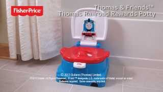Thomas Railroad Rewards Potty - Demo - Thomas The Train - Thomas & Friends - Fisher Price