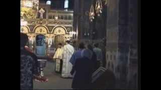 chrzest w cerkwi (cz. 1) - Konstanca, Rumunia