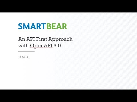 Adopting an API First Approach with OpenAPI 3.0