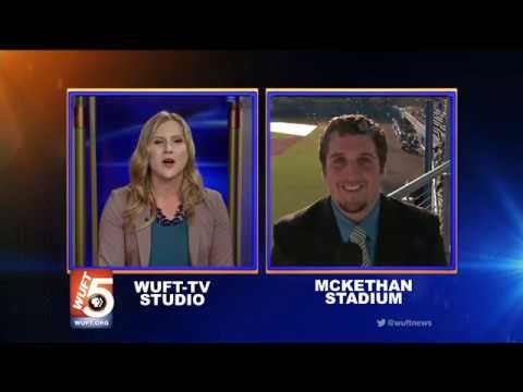 WUFT News at Six - Sports Live Shot 3/18/14
