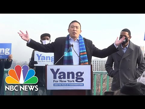 Andrew Yang Announces He Is Running For New York City Mayor | NBC News NOW
