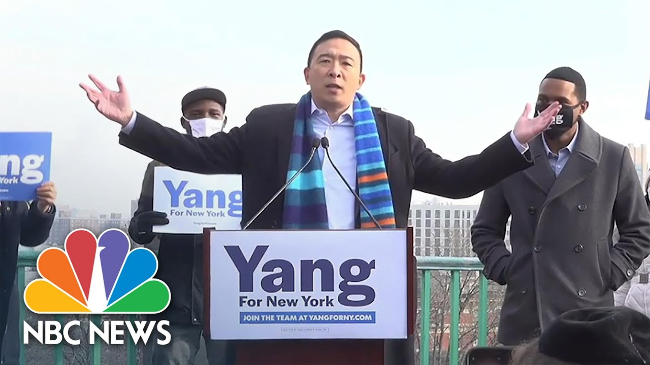 Andrew Yang announces run for NYC mayor