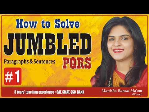 How To Solve Jumbled, 100 Previous Questions of Jumbled by Manisha Bansal Ma'am Part #1