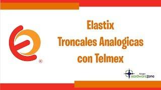 Configuracion De Conmutador Basica Troncales Analogas
