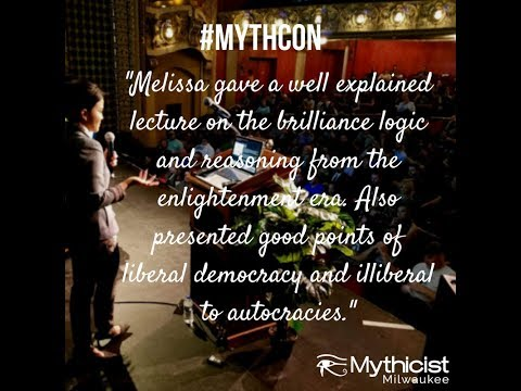 Melissa Chen at #Mythcon 4 HQ
