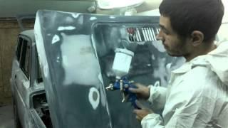 покраска авто в гараже настройка пистолета(, 2013-11-07T15:38:30.000Z)