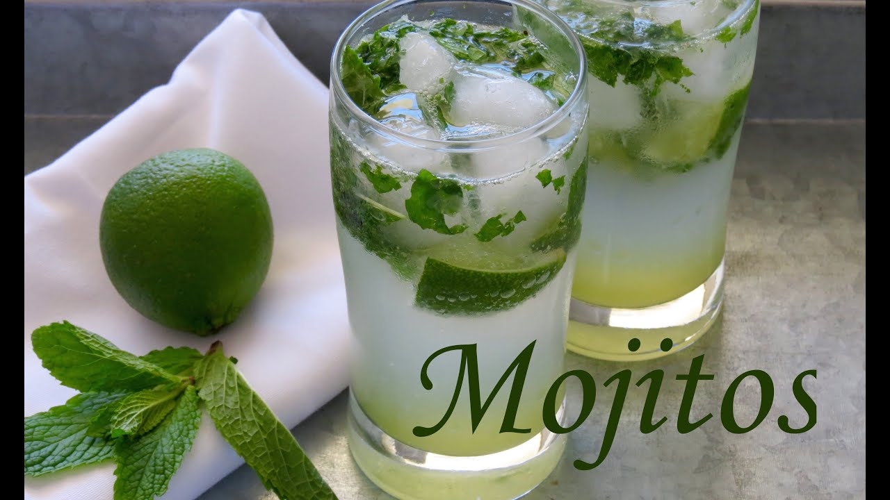 como hacer mojitos receta coctel the frugal chef