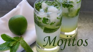 Como Hacer Mojitos -- Receta Coctel -- The Frugal Chef