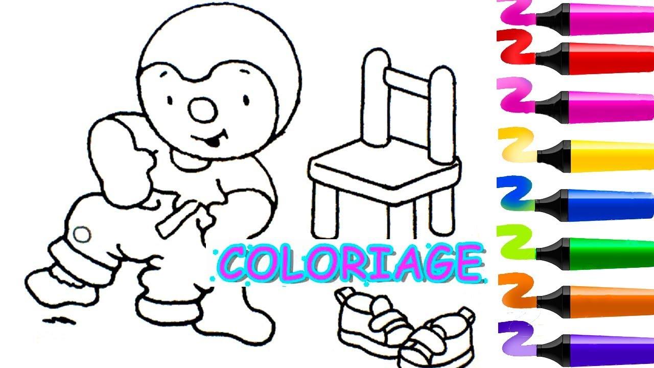 Coloriage Tchoupi Tchoupi Et Ses Amis Tchoupi Et Doudou Jeux