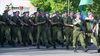 Подготовка пешей колонны к параду 3 июля