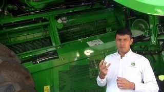 Conheça o sistema de trilha e separação das colheitadeiras Série S John Deere