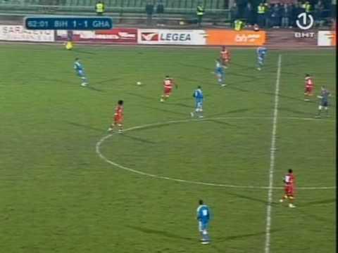 Miralem Pjanić, Bosnia-Herzegovina vs Ghana