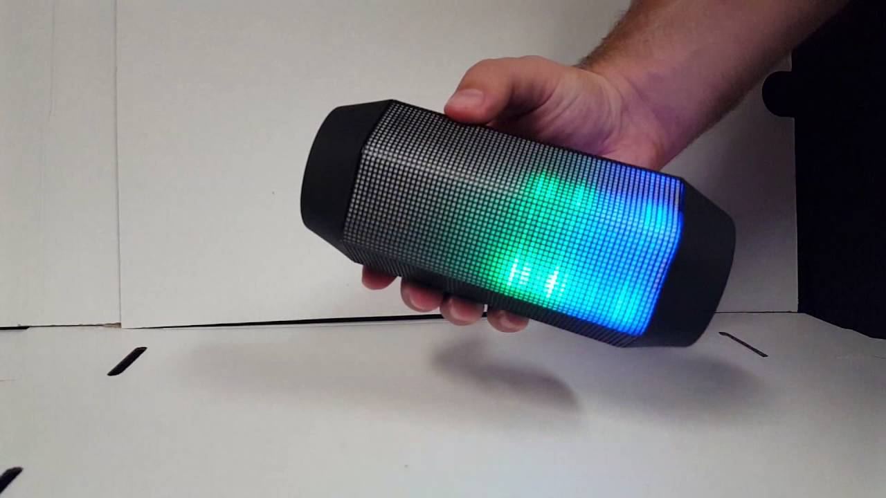 Craig Electronics Color Changing Bluetooth Speaker (CMA3594)