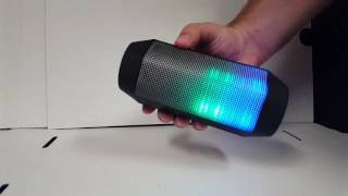 Craig Electronics Color Changing Bluetooth Speaker (CMA3594)