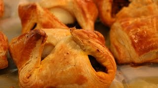 Easy Egg Puffs using ready-made puff pastry anyone can do this