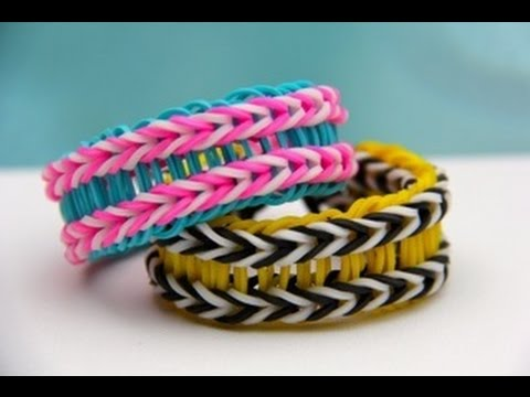 How to make rubber band bracelet loom