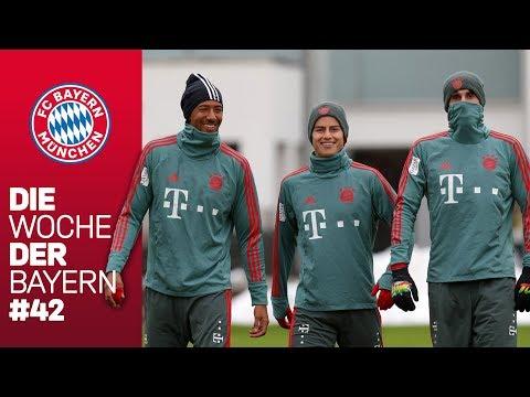 Bayern Spieler hoch motiviert für den Rückrundenauftakt |Die Woche der Bayern