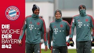 Bayern-Spieler hoch motiviert für den Rückrundenauftakt |Die Woche der Bayern | Ausgabe 42
