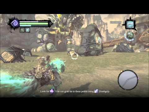 Let's Play DARKSIDERS 2: Part 32 Death V.S. The Guardian, More Dramatic In The Trailer PC