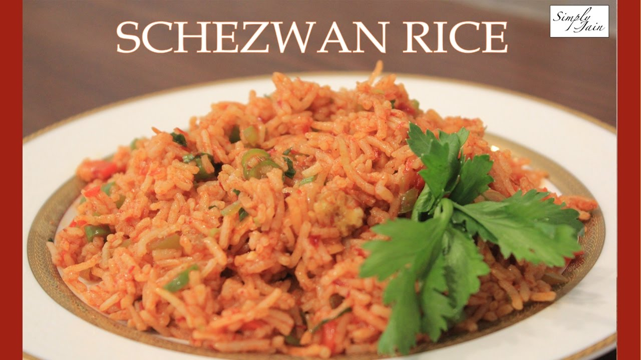 Jain schezwan rice how to make jain schezwan rice chinese jain schezwan rice how to make jain schezwan rice chinese cuisine simply jain forumfinder Gallery