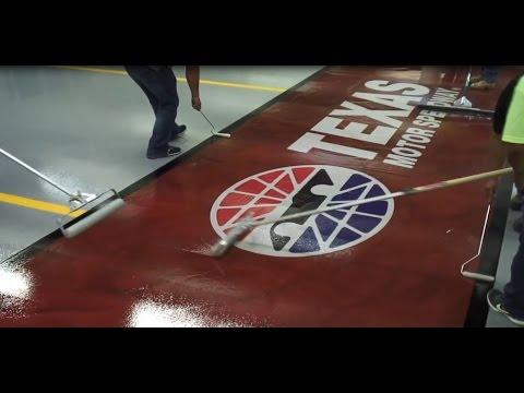 LATICRETE® SPARTACOTE® Gives Texas Motor Speedway Flooring Built to Last!