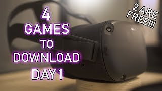 Oculus Quest MUST Have Day 1 Game Downloads! | Oculus | 2 FREE GAMES