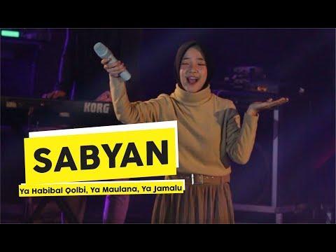 [HD] Sabyan - Ya Habibal Qolbi Ya Maulana Ya Jamalu (Live At Yogyakarta)