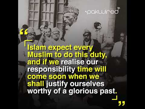 Gone But Never Forgotten: 7 Quotes Of Quaid-e-Azam - YouTube