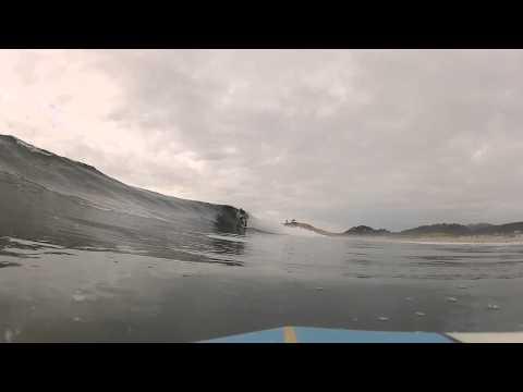 9-21-12 Cape Kiwanda longboard warmup