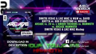 Download Lagu Arcade vs. 2U vs. L'Amour Toujours vs. Mammoth vs. Arcade Mammoth (Dimitri Vegas & Like Mike Mashup) mp3