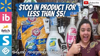 WALMART IBOTTA HAUL || CLEAŔANCE MONEYMAKERS, MIDWEEK BONUS + HOW I GOT IT ALL FOR LESS THAN $5!