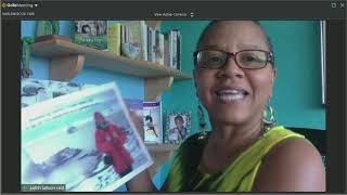 JUDI READS  ANTARCTICA ADVENTURES WITH A JAAMAICAN ON ICE AT HARLEM BOOK FAIR 2020