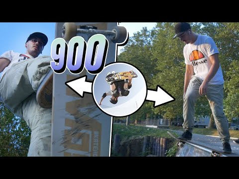 Ich mache den 900...😱 Skate Trick Challenge!