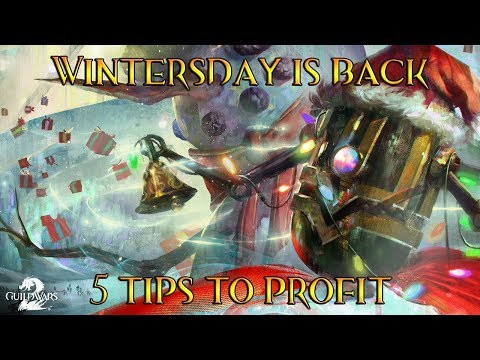 [GW2] Wintersday and the Economy - 5 Things To Know and Do! thumbnail
