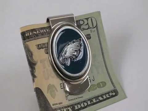 Personalized NFL Money Clip - Personalized Money Clip - NFL Money Clip