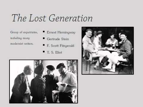 ernest hemingways lost generation essay Ernest hemingway: a moveable feast & paris back next  anderson was correct that all the good writers were in paris among the authors and artists who established themselves there in the years after world war i were gertrude stein, james joyce, ezra pound, f scott fitzgerald and anderson himself it was a cohort of young people whom gertrude stein nicknamed the lost generation—those who.