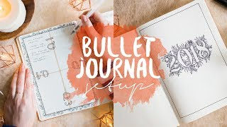 Das ultimative Bullet Journal Setup 2018 (deutsch) | WIN & kostenloses Future Log Printable