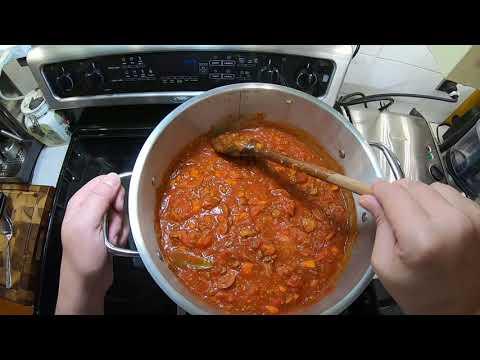 sauce-à-spaghetti-à-l'autoclave